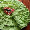 Refashioned Dollar Store Xmas Tree Skirt