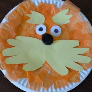 Lorax easy art project for kids for All free holiday crafts