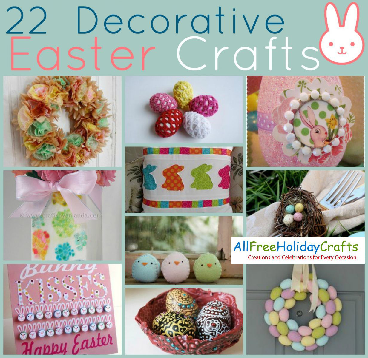 37 decorative easter crafts for All free holiday crafts