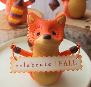 Frisky Fox Figurine