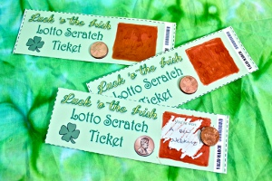 Luck of the Irish Lotto Scratch Tickets