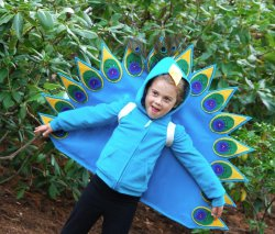 Proud as a Peacock Costume