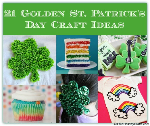 Golden St. Patrick's Day Ideas