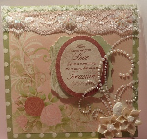 Treasured Love Valentines Card
