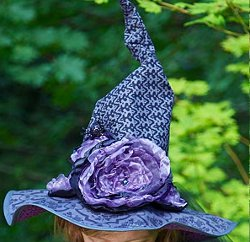 Witch Hat With Dead Roses