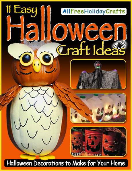 Easy Halloween Crafts to Make at Home