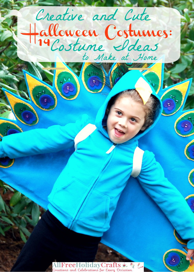 Creative and Cute Halloween Costumes: 14 Costume Ideas to Make at Home eBook