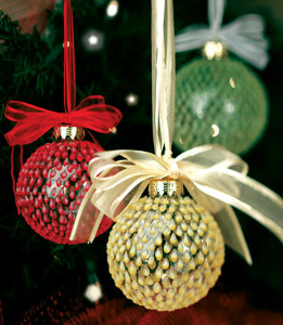 Teardrop Christmas Ornaments