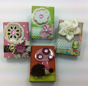 Recycled Matchbox Gift Box