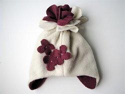 Snowblossom Fleece Hat Stay Warm with DIY Clothing Ideas!
